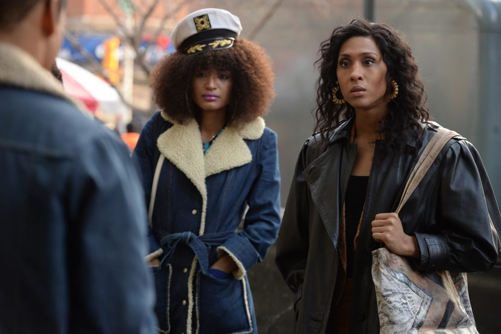 "POSE -- ""Pilot"" -- Season 1, Episode 1 (Airs Sunday, June 3, 9:00 p.m. e/p) Pictured (l-r): Indya Moore as Angel, Mj Rodriguez as Blanca. CR: JoJo Whilden/FX"