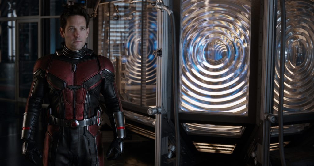 Marvel Studios ANT-MAN AND THE WASP. Ant-Man/Scott Lang (Paul Rudd). Photo: Film Frame. ©Marvel Studios 2018