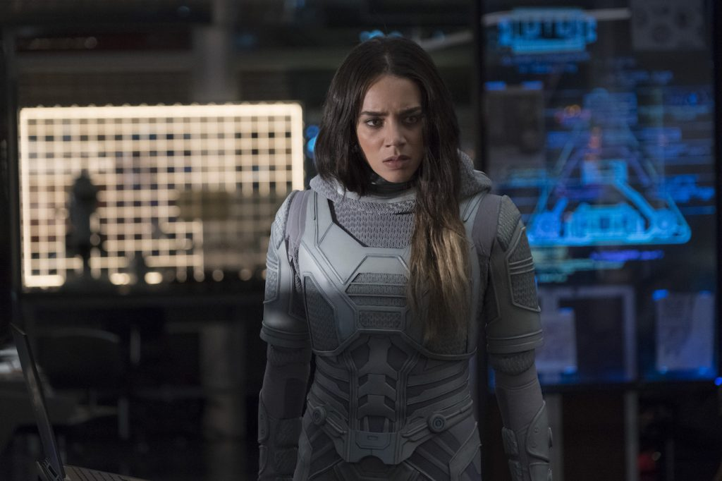 Marvel Studios ANT-MAN AND THE WASP. Ghost (Hannah John-Kamen). Photo: Ben Rothstein. ©Marvel Studios 2018