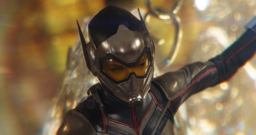 Marvel Studios ANT-MAN AND THE WASP. Wasp/Hope van Dyne (Evangeline Lilly). Photo: Film Frame.©Marvel Studios 2018