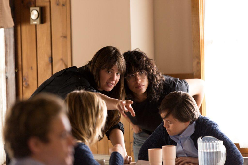 L-r: Cinematographer Ashley Connor and director Desiree Akhavan. Courtesy Lionsgate.