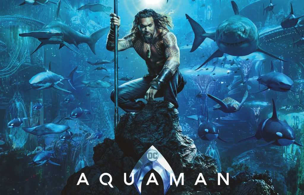 Aquaman Poster. Courtesy Warner Bros. Pictures.