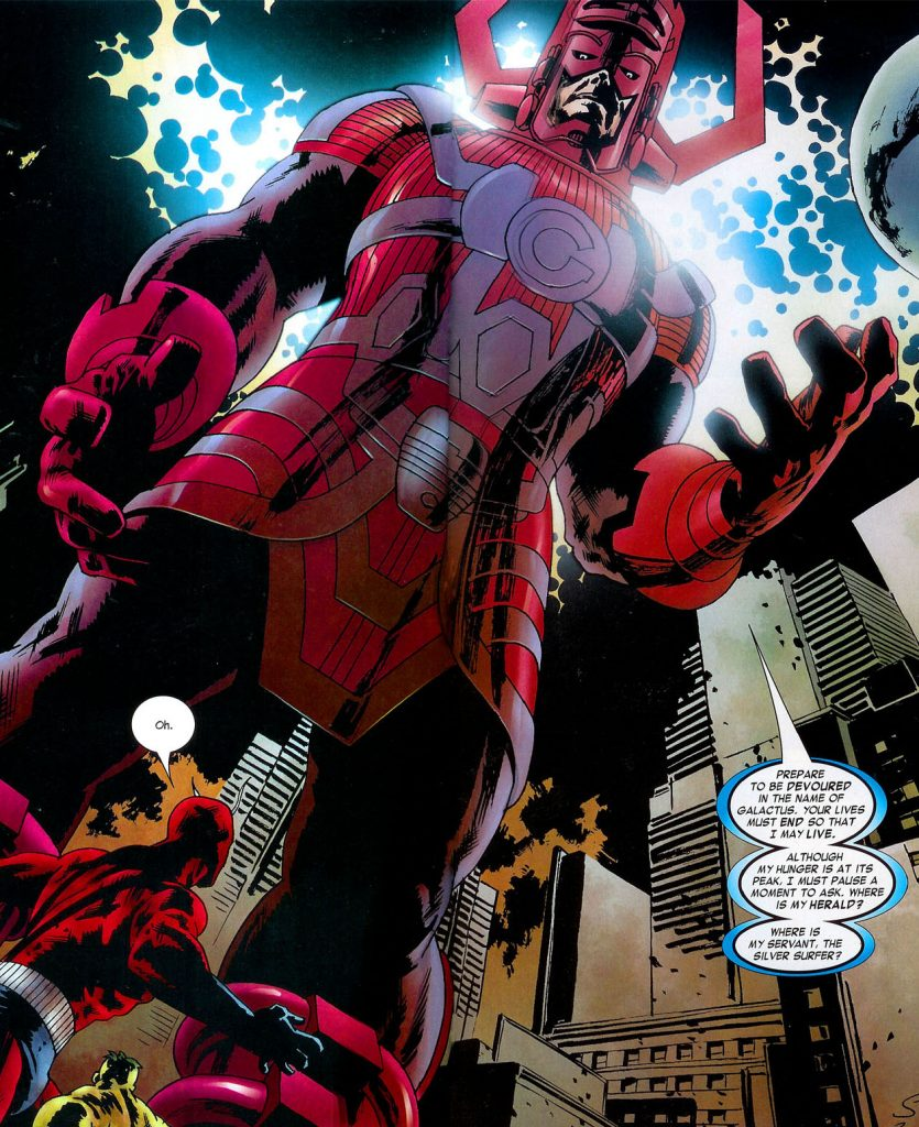 Galactus_(Earth-2149) from Marvel Zombies Vol 1. Courtesy Marvel.