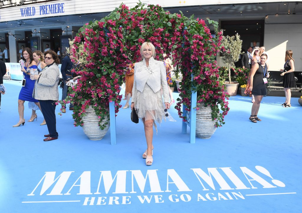"LONDON, ENGLAND - JULY 16: Producer Judy Craymer attends the ""Mamma Mia! Here We Go Again"" world premiere at the Eventim Apollo, Hammersmith on July 16, 2018 in London, England. (Photo by Stuart C. Wilson/Getty Images for Universal Pictures )"