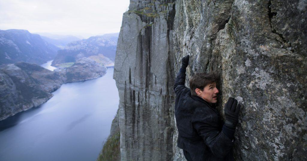 Tom Cruise as Ethan Hunt in MISSION: IMPOSSIBLE - FALLOUT, from Paramount Pictures and Skydance. Courtesy Paramount.