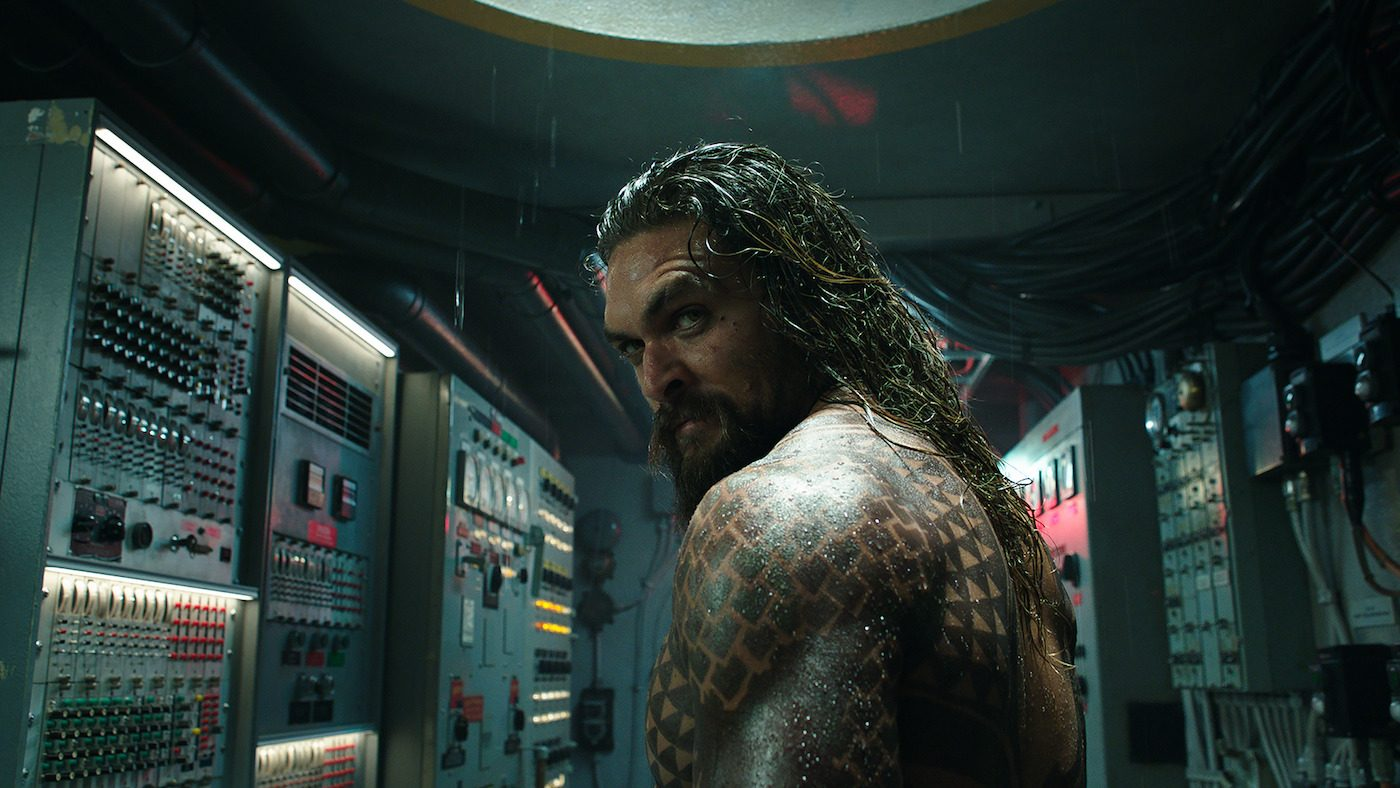 JASON MOMOA as Aquaman. Courtesy Warner Bros.