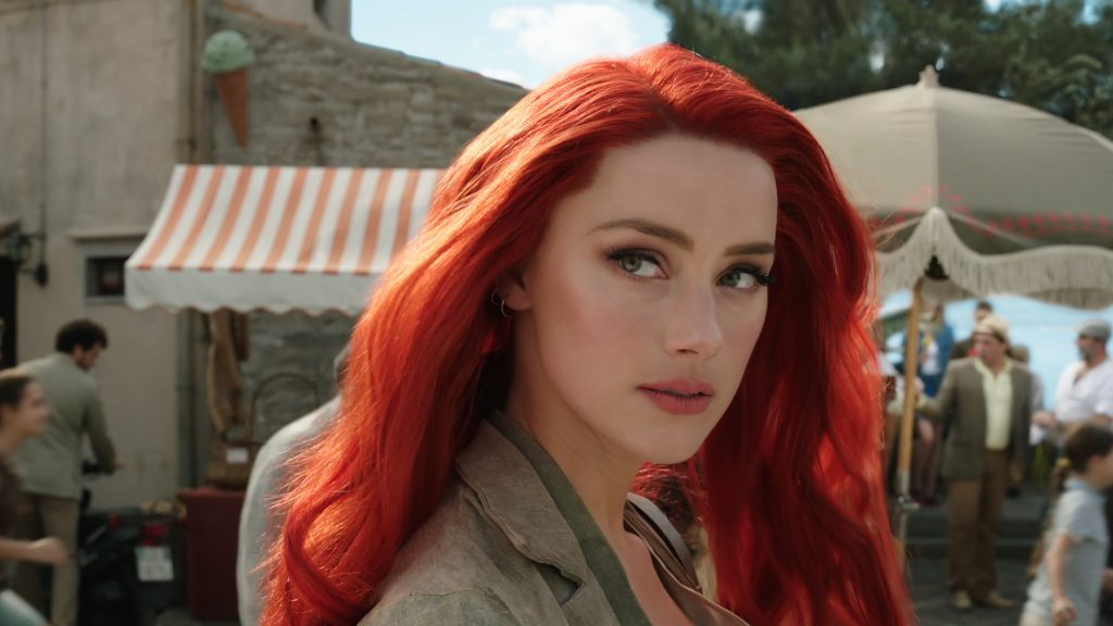 AMBER HEARD as Mera. Courtesy Warner Bros.