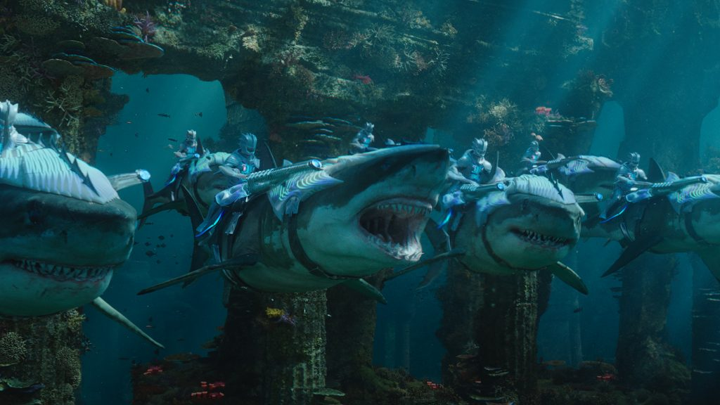 "Caption: A scene from Warner Bros. Pictures' action adventure ""AQUAMAN,"" a Warner Bros. Pictures release. Photo Credit: Courtesy of Warner Bros. Pictures"