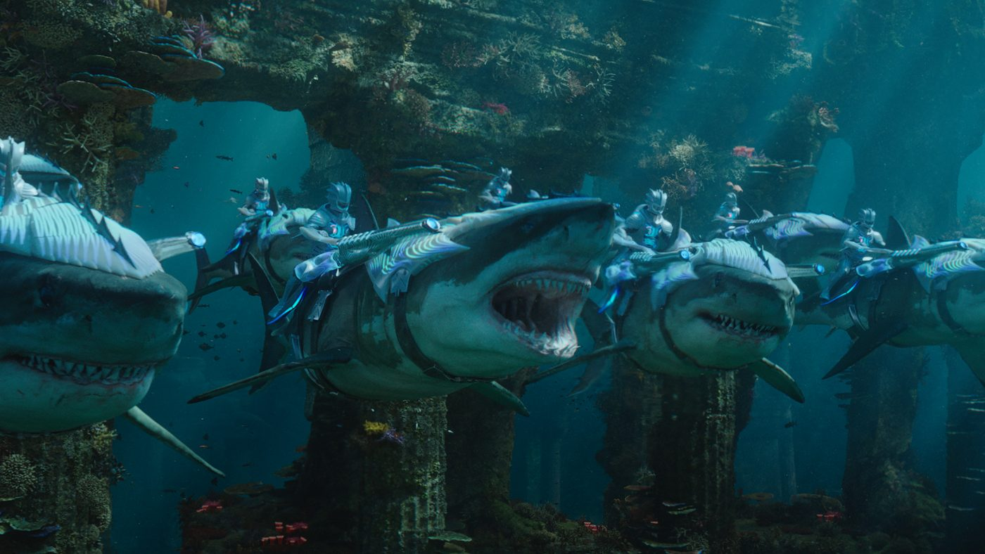 """Caption: A scene from Warner Bros. Pictures' action adventure """"AQUAMAN,"""" a Warner Bros. Pictures release. Photo Credit: Courtesy of Warner Bros. Pictures"""