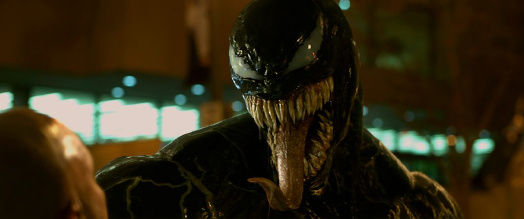 Venom Courtesy: Sony Pictures © 2018 CTMG, Inc. All Rights Reserved.