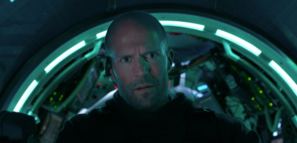 """Caption: JASON STATHAM as Jonas Taylor in Warner Bros. Pictures' and Gravity Pictures' science fiction action thriller """"THE MEG,"""" a Gravity Pictures release for China, and a Warner Bros. Pictures release throughout the rest of the world. Photo Credit: Courtesy of Warner Bros. Pictures"""