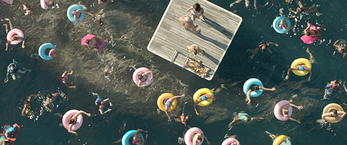 """Caption: A scene from Warner Bros. Pictures' and Gravity Pictures' science fiction action thriller """"THE MEG,"""" a Gravity Pictures release for China, and a Warner Bros. Pictures release throughout the rest of the world."""