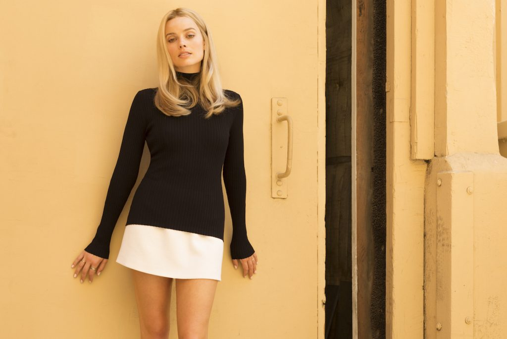Margot Robbie as Sharon Tate  in Quentin Tarantino's Once Upon A Time... in Hollywood. Photo by Andrew Cooper/Sony Pictures