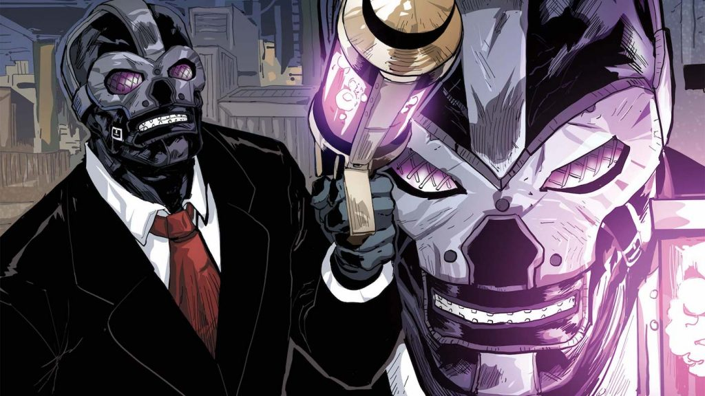 Black Mask. Courtesy DC Comics.