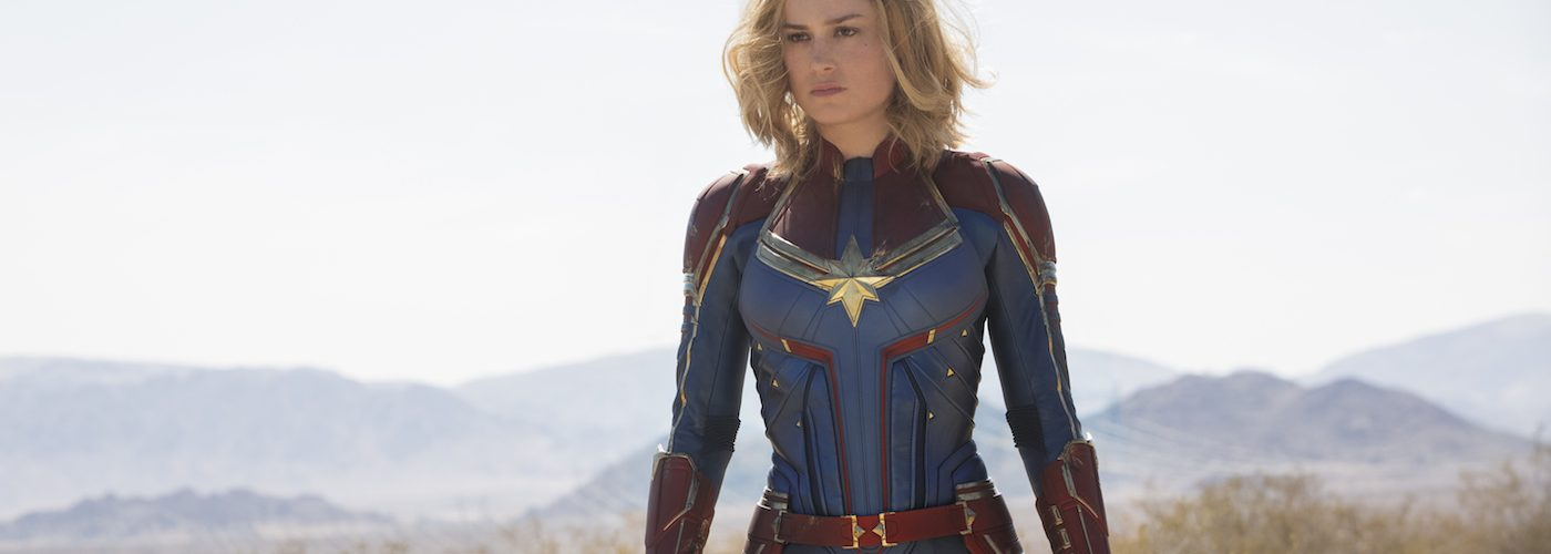 Marvel Studios' CAPTAIN MARVEL..Carol Danvers/Captain Marvel (Brie Larson)..Photo: Chuck Zlotnick. ©Marvel Studios 2019
