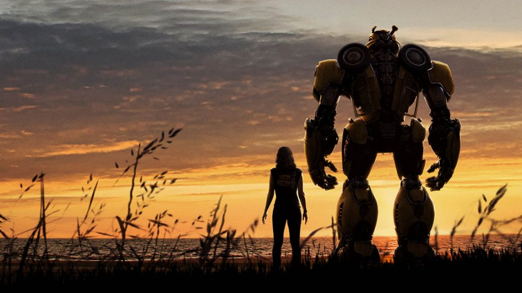 Artwork from 'Bumblebee.' Courtesy Paramount Pictures.