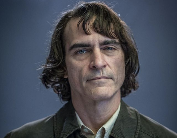 Joaquin Phoenix as hte Joker. Courtesy Todd Phillips