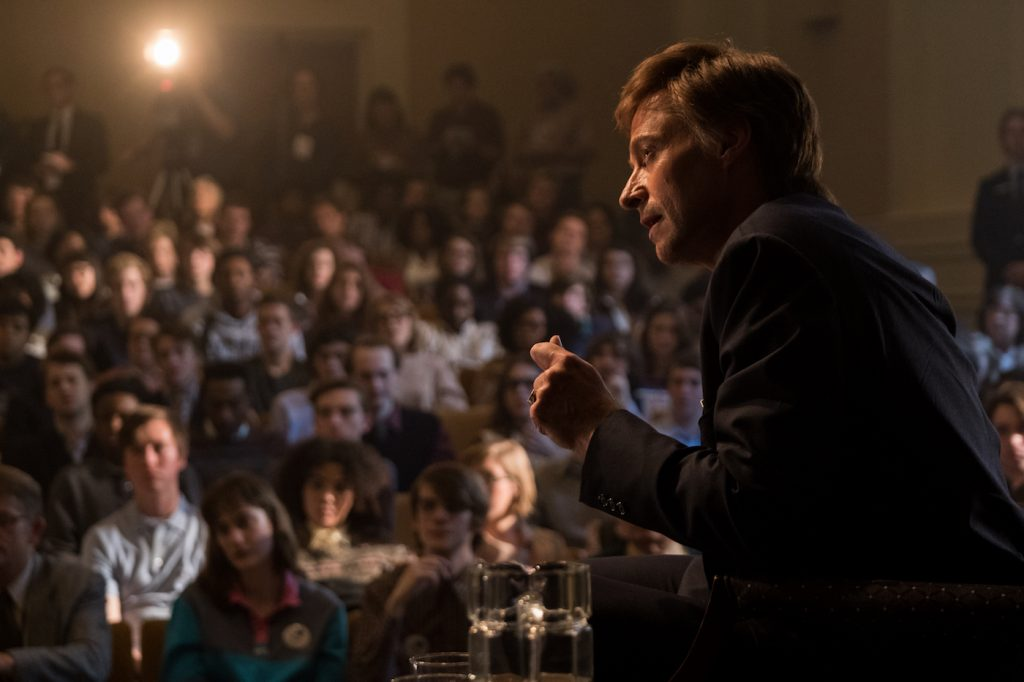 gh Jackman stars in Columbia Pictures' THE FRONT RUNNER. Photo Credit: Frank Masi