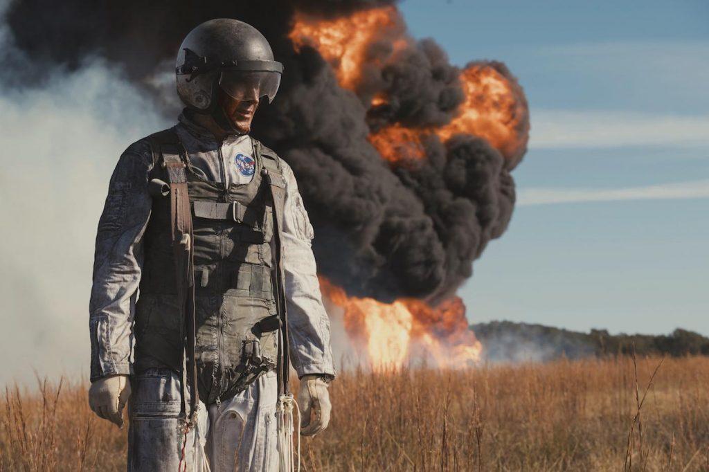 """RYAN GOSLING as Neil Armstrong in """"First Man,"""" directed by OscarÆ-winning filmmaker Damien Chazelle (""""La La Land""""). Photo Credit: Daniel McFadden"""