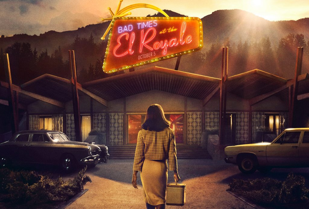 Cynthia Erivo in 'Bad Times at the El Royale' theatrical poster. Courtesy 20th Century Fox