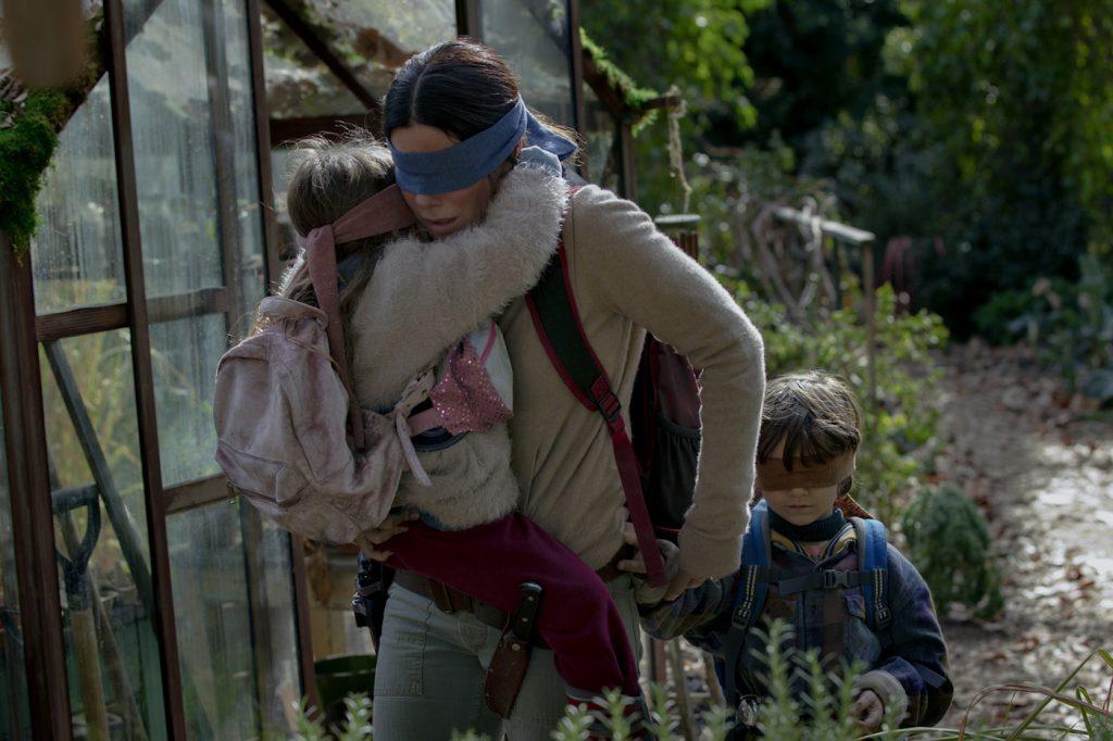 Sandra Bullock in 'Bird Box.' Courtesy Netflix.