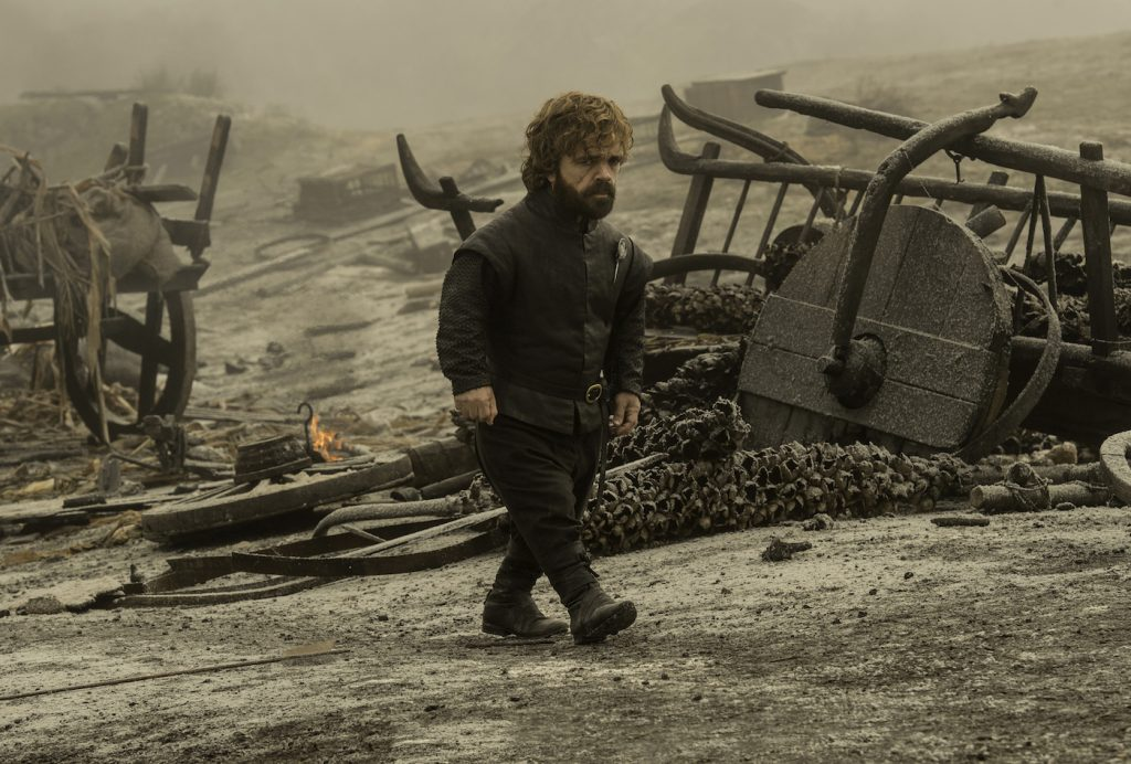 Episode 65 (season 7, episode 5), debut 8/13/17: Peter Dinklage. photo: Macall B. Polay/courtesy of HBO