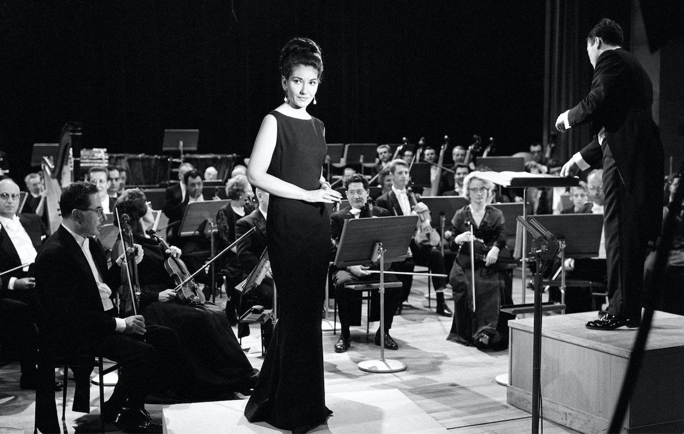 Maria Callas. Courtesy Sony Pictures.