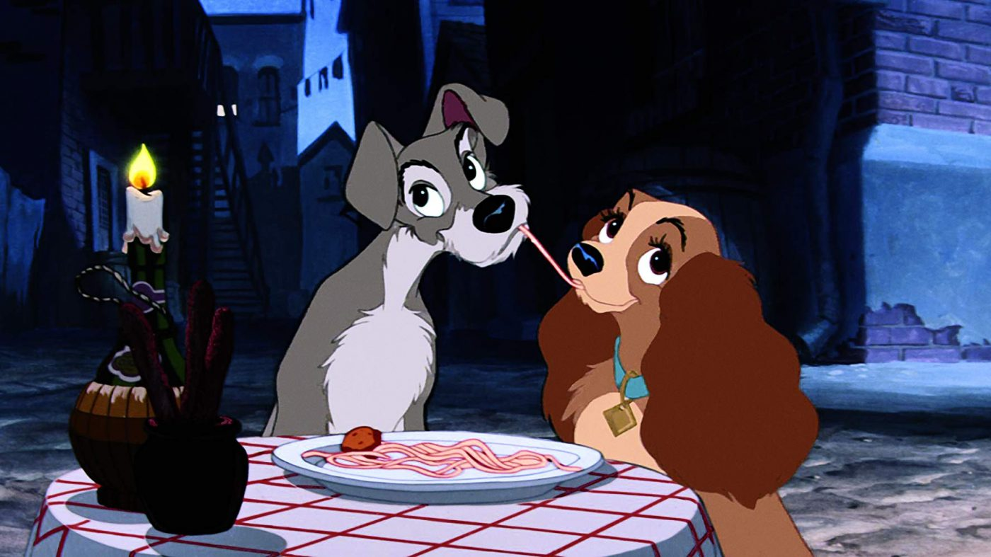 Lady and the Tramp via Walt Disney Studios