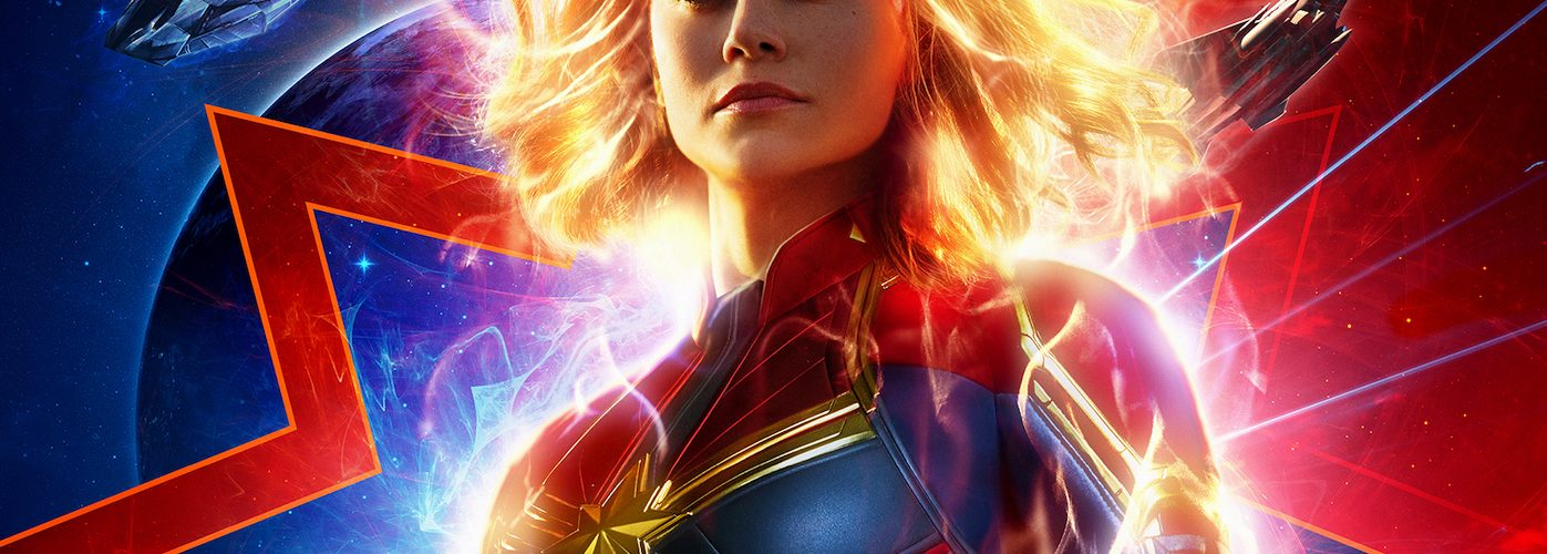 Captain Marvel poster. Courtesy Walt Disney Studios/Marvel Studios