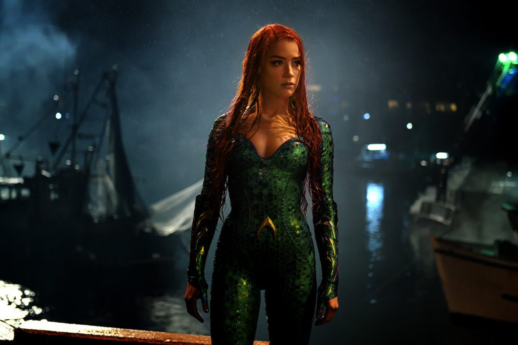 "Caption: AMBER HEARD as Mera in Warner Bros. Pictures' action adventure ""AQUAMAN,"" a Warner Bros. Pictures release."