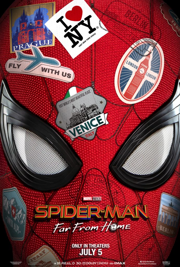 Spider-Man: Far From Home theatrical poster