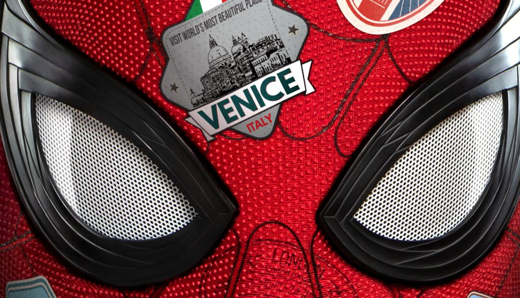 Spider-Man: Far From Home theatrical poster. Courtesy Sony Pictures.