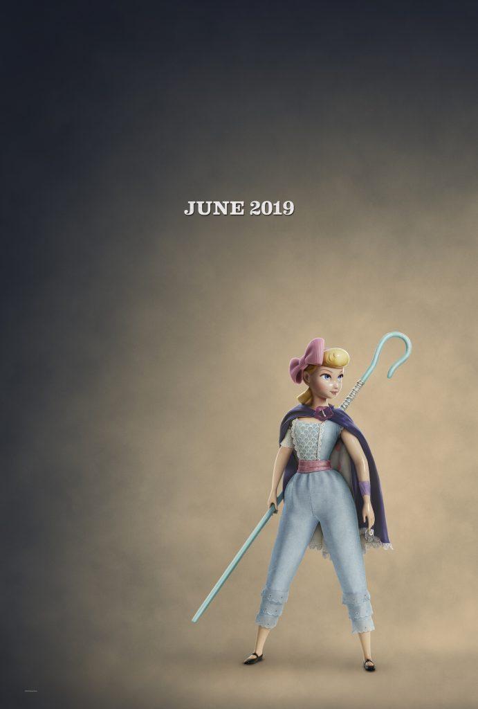 Bo Peep in 'Toy Story 4.' Courtesy Pixar/Walt Disney Studios