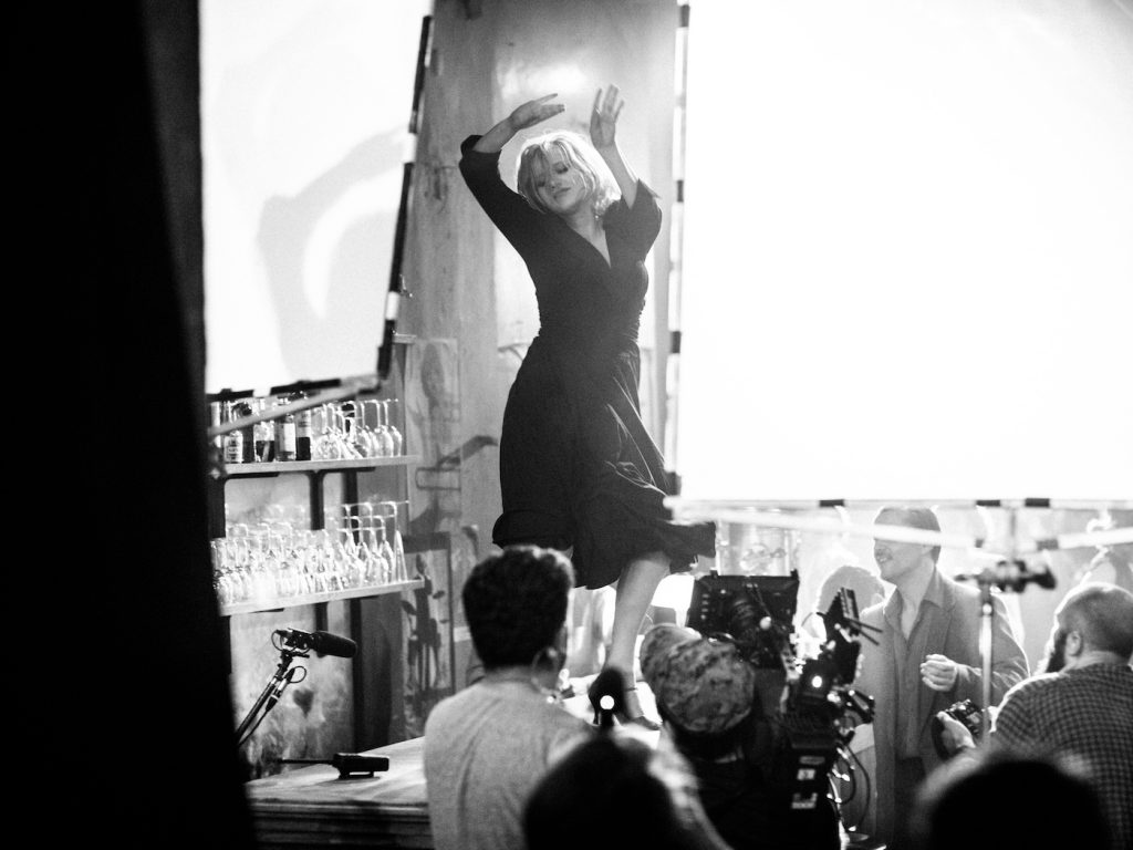 Featured image: Joanna Kulig as Zula, on the set of 'Cold War.' Courtesy Lukasz Zal/Amazon Studios.