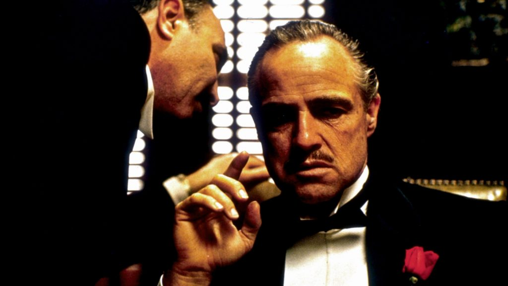Marlon Brando in 'The Godfather.' Courtesy ASC/Paramount Pictures.