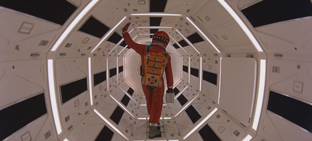 A scene from '2001: A Space Odyssey.' Courtesy ASC/MGM.