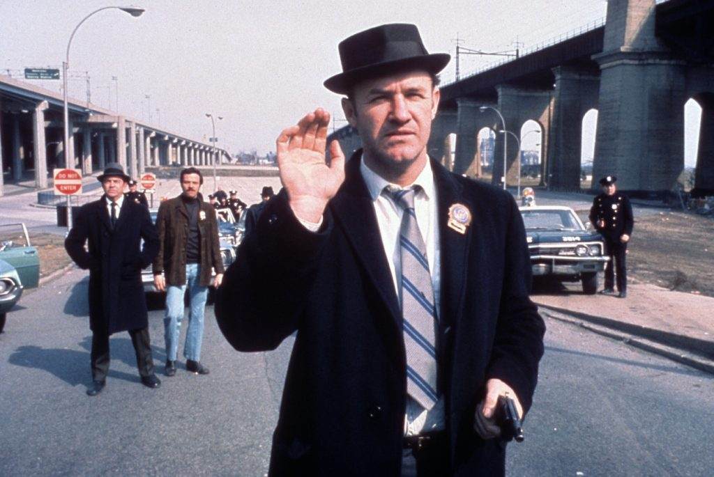 Gene Hackman in 'The French Connection.' Courtesy ASC/20th Century Fox.