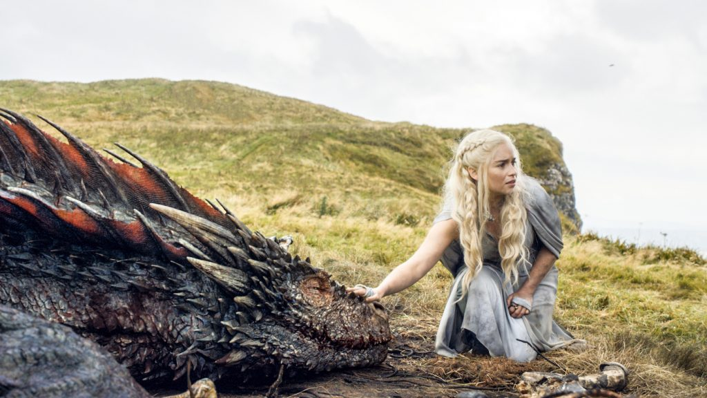Emilia Clarke. photo courtesy of HBO