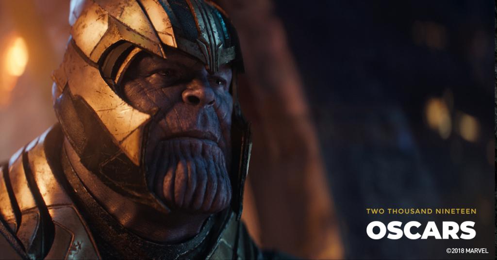 Thanos (Josh Brolin) in Avengers: Infinity War. Courtesy Marvel Studios.