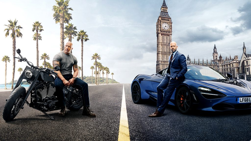 Hobbs and Shaw Courtesy: Universal Studios