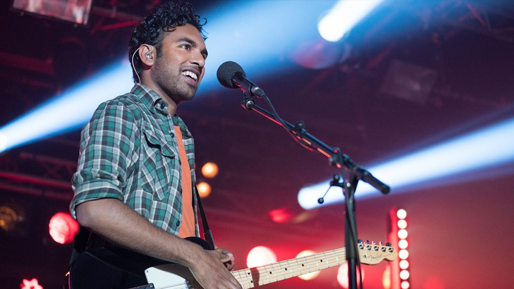 Himesh Patel in Yesterday. Courtesy: Universal Studios
