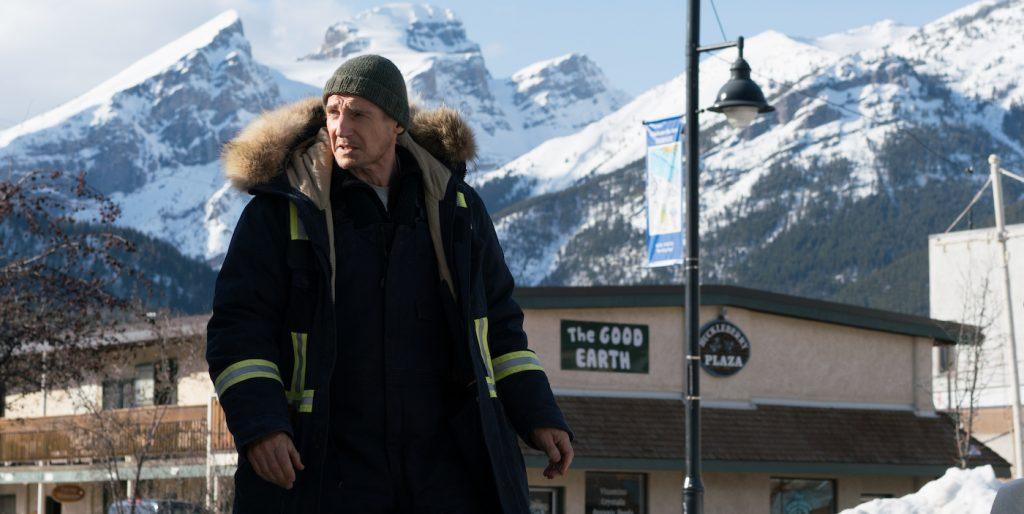 Liam Neeson stars as 'Nels Coxman' in COLD PURSUIT. Photo credit: Doane Gregory.