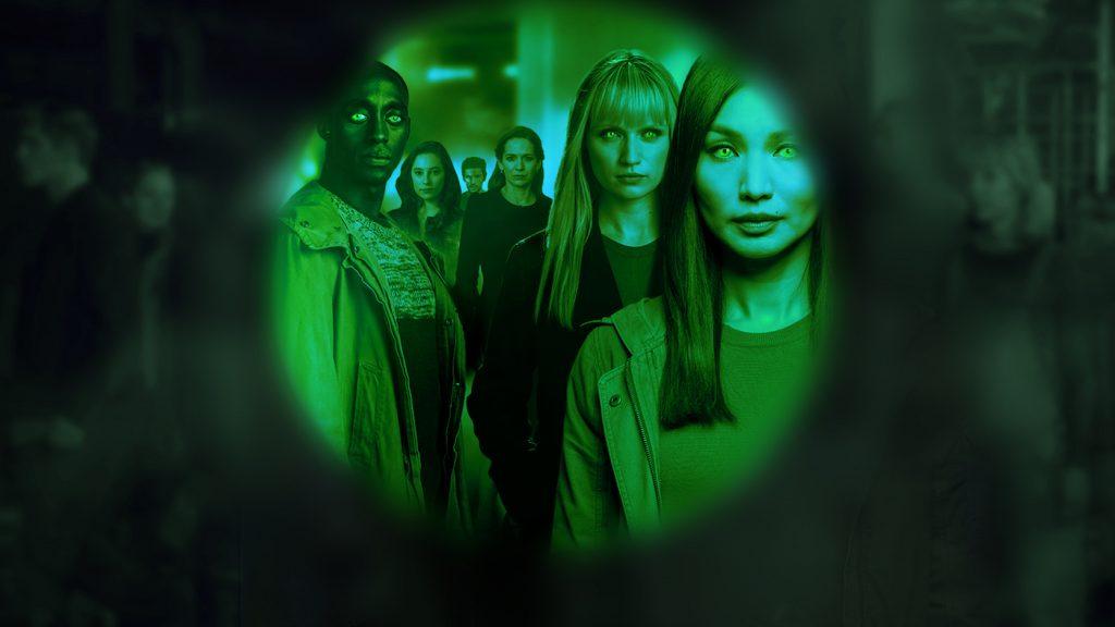 'Humans' key art from season 3. Courtesy AMC
