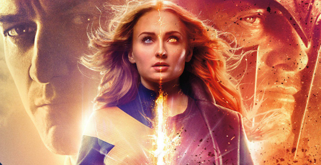 James McAvoy as Professor X, Sophie Turner as Jean Grey and Michael Fassbender as Magneto in 'Dark Phoenix.' Courtesy 20th Century Fox