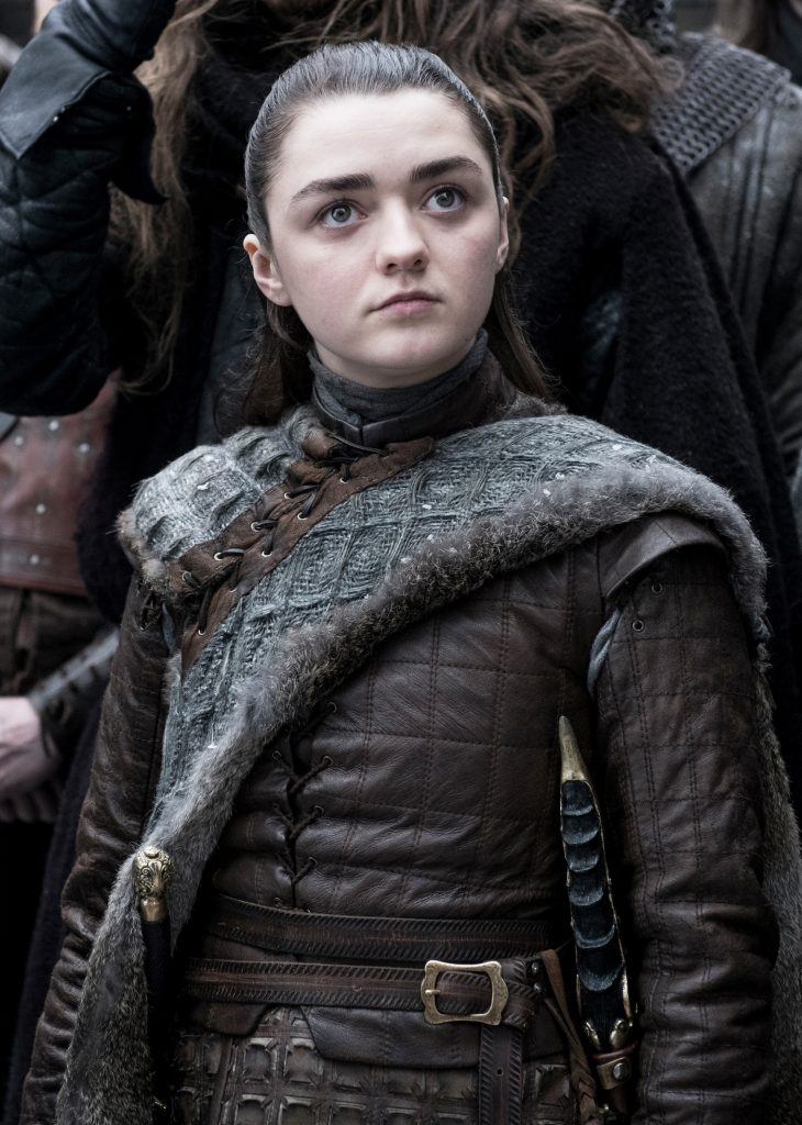 Maisie Williams. photo: Helen Sloane/HBO