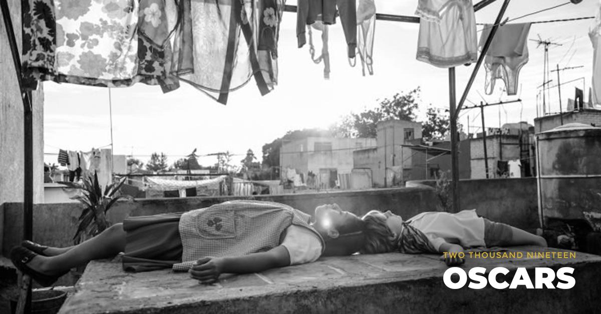 Yalitza Arapicio and Marco Graf in 'Roma.' Courtesy Netflix.