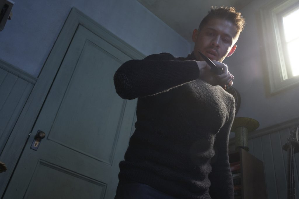 David Castañeda as Diego in The Umbrella Academy. Courtesy Netflix.
