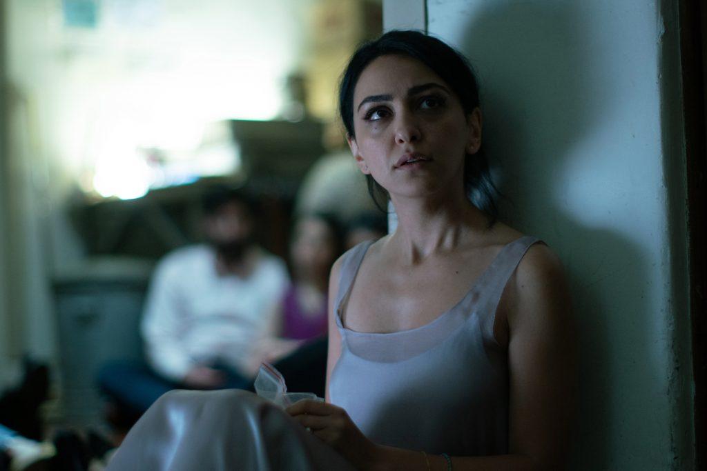"Nazanin Boniadi stars as ""Zahra"" in director Anthony Maras' HOTEL MUMBAI, a Bleecker Street release."