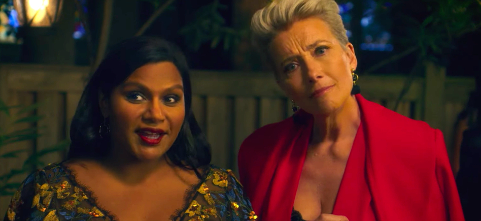 Mindy Kaling and Emma Thompson in 'Late Night.' Courtesy Amazon Studios.