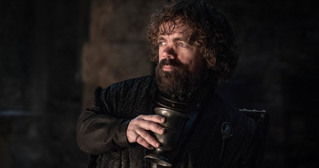 Season 8, episode 2 (debut 4/21/19): Peter Dinklage. photo: Helen Sloan/HBO